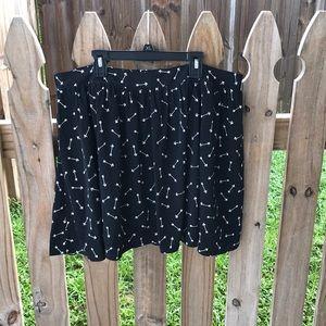 Lauren Conrad arrow skirt!